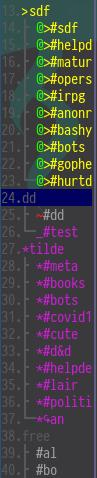 weechat_buflist_formatting screenshot